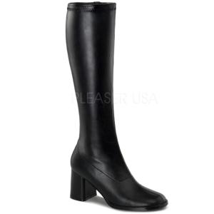 Fekete 7,5 cm Funtasma GOGO-300 Női Csizma