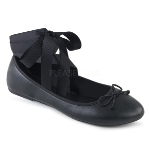 Műbőr DEMONIA DRAC-03 Balerina lapos sarkú női cipők