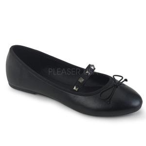 Műbőr DEMONIA DRAC-07 Balerina lapos sarkú női cipők