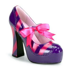 Rozsaszin Bíbor 13 cm KITTY-32 női cipők a magassarkű