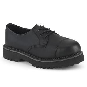 Vegan RIOT-03 demonia cipő - unisex acél lábbeli punk cipő