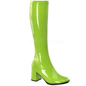 Zöld 8,5 cm Funtasma GOGO-300 Női Csizma