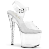 Akril 18 cm Pleaser UNICORN-708 Platform Magassarkú Cipők
