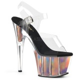 Arany 18 cm ADORE-708HGI Hologram platform magassarkű női