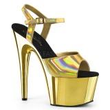 Arany 18 cm ADORE-709HGCH Hologram platform magassarkű női