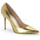 Arany Matt 10 cm CLASSIQUE-20 Körömcipők Tűsarkú Magas Cipők
