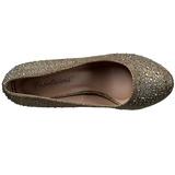 Arany Strasszköves 9 cm COVET-02 Körömcipők magas cipők