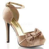 Arany Szatén 12 cm LUMINA-36 Körömcipők magas cipők