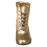 Arany csipke anyag 5 cm DAME-05 Női Fűzős Bokacsizma
