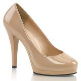 Bézs 11,5 cm FLAIR-480 női cipők magassarkű