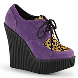 Bíbor Műbőr CREEPER-304 creepers éktalpú cipők