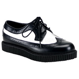 Bőr 2,5 cm CREEPER-608 Platform Creepers Cipők Férfi