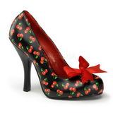 Cseresznye Minta 12 cm CUTIEPIE-06 Női Körömcipők