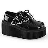 Csillámos CREEPER-205 Platform Creepers Cipők Női