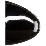 Fekete 11 cm Funtasma EXOTICA-2000 Platform Női Csizma