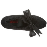 Fekete 13 cm DEMON-11 Platform Gótikus Cipők