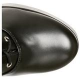 Fekete 13 cm Pleaser ELECTRA-2020 Platform Női Csizma