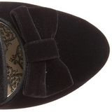 Fekete Bokacsizma női 6,5 cm BORDELLO WHIMSEY-115