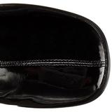 Fekete Fenyes 8 cm GOGO-3000 Női overknee csizma