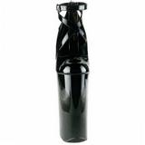 Fekete Lakk 25,5 cm Pleaser BEYOND-087 Platform Körömcipők