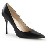 Fekete Matt 10 cm CLASSIQUE-20 Körömcipők Tűsarkú Magas Cipők