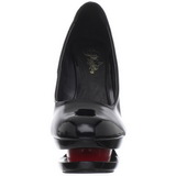Fekete Piros 15 cm BLONDIE-685 Körömcipők Tűsarkú Magas Cipők