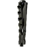 Fenyes 13 cm ELECTRA-2042 női csatos csizma a magassarkű