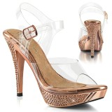 Gold Rose 11,5 cm ELEGANT-408 fabulicious fitness verseny cipő magassarkű