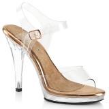 Gold Rose 11,5 cm FLAIR-408 fabulicious fitness verseny cipő magassarkű