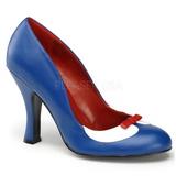 Kék 10,5 cm SMITTEN-05 női cipők magassarkű