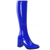 Kék 8,5 cm Funtasma GOGO-300 Női Csizma