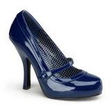Kék Lakk 12 cm CUTIEPIE-02 Női Körömcipők