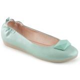 Kék OLIVE-08 Balerina lapos sarkú női cipők