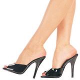 Lakkbőr 13 cm Pleaser SEDUCE-101 Papucs Női Cipők
