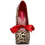 Leopárd 14,5 cm Burlesque TEEZE-12 női cipők a magassarkű