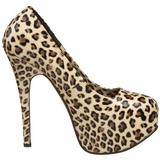 Leopárd 14,5 cm Burlesque TEEZE-35 női cipők a magassarkű