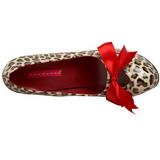 Leopárd 14,5 cm TEEZE-12 női cipők a magassarkű