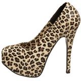 Leopárd 14,5 cm TEEZE-35 női cipők a magassarkű
