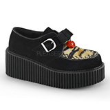 Műbőr CREEPER-213 Platform Creepers Cipők Női