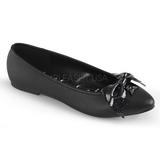 Műbőr VAIL-01 Lapos Balerínky Cipők Női