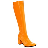 Narancs Neon 8,5 cm FUNTASMA GOGO-300UV Női Csizma