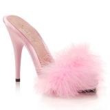 Pink 13 cm POISE-501F Prém Magassarkú Papucs