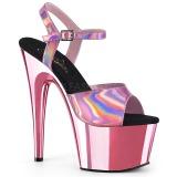 Pink 18 cm ADORE-709HGCH Hologram platform magassarkű női