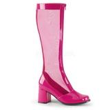 Pink 8,5 cm GOGO-307 női halo csizma a magassarkű