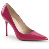 Pink Lakk 10 cm CLASSIQUE-20 Körömcipők Tűsarkú Cipő