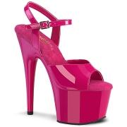 Pink platform 18 cm ADORE-709 pleaser magassarkú