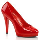 Piros 11,5 cm FLAIR-480 női cipők magassarkű