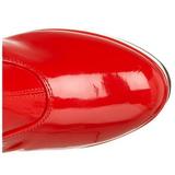 Piros 11 cm Funtasma EXOTICA-2000 Platform Női Csizma
