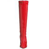 Piros 13 cm Pleaser SEDUCE-2000 Női Csizma