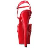 Piros 18 cm ADORE-709 Magassarkú Platform